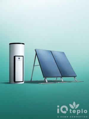 Незакипающие солнечные системы для приготовления горячей воды Vaillant auroSTEP plus 2.250