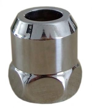 """Резьбовое соединение Schlosser для санитарной арматуры, хром 3/8""""x10mm 606000006"""