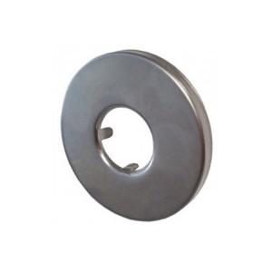 Розетка Schlosser для санитарной арматуры, круглая хром 606000009
