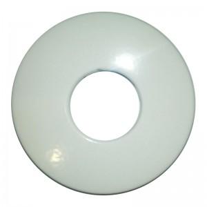 Розетка Schlosser для санитарной арматуры, круглая белая 606000035